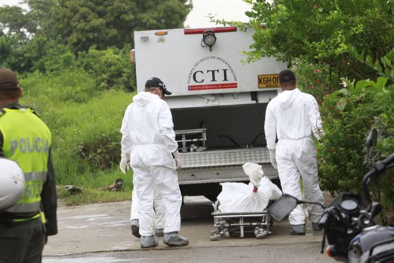 Investigan un triple homicidio en el corregimiento de San Cristobal