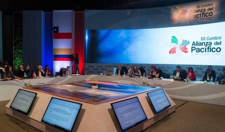 COLOMBIA: Inicia macrorrueda de la Alianza del Pacífico