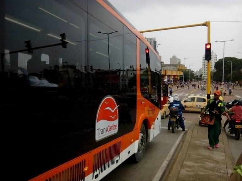 Denuncian en redes presunto abuso sexual en bus de Transcaribe: Denuncian en redes presunto abuso sexual en bus de Transcaribe