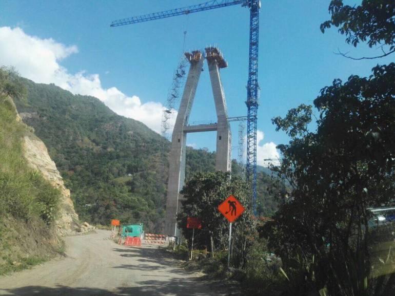 CARRETERA CUROS MÁLAGA INVÍAS PUENTE DE LIZGAURA: Hasta el 31 de diciembre estará cerrada de forma parcial carretera Curos Málaga