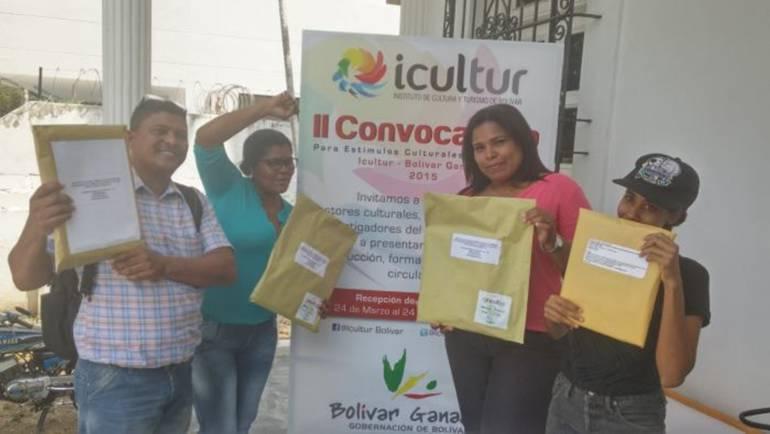 El 15 de septiembre anuncian beneficiarios del Programa Estímulos 2017 en Bolívar: El 15 de septiembre anuncian beneficiarios del Programa Estímulos 2017 en Bolívar