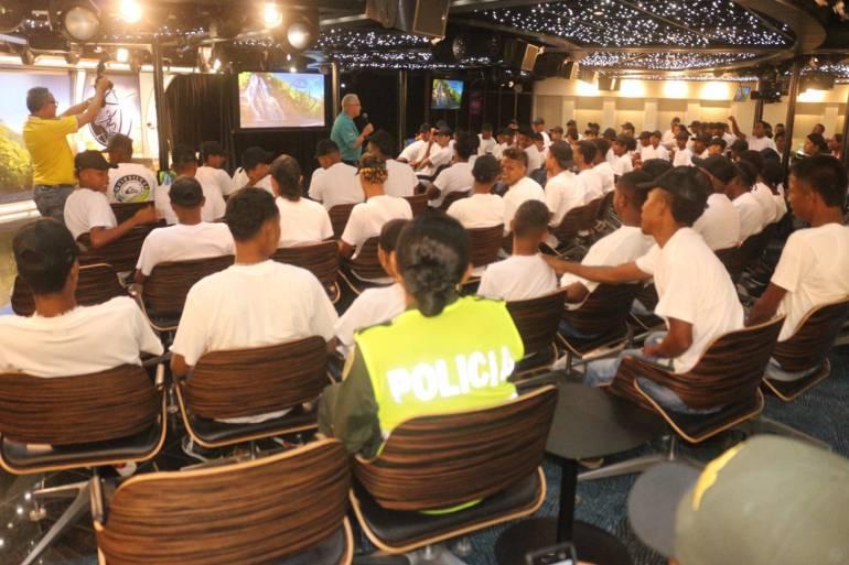 Jóvenes en riesgo de Cartagena se capacitan en resolución de conflictos: Jóvenes en riesgo de Cartagena se capacitan en resolución de conflictos