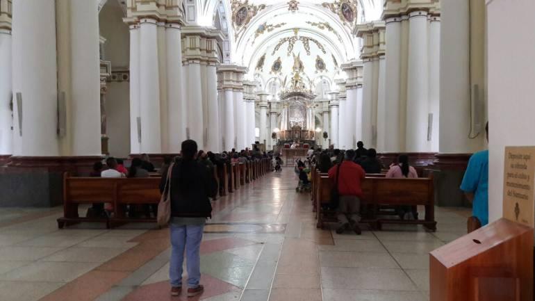 Cuadro de Virgen de Chiquinquirá comienza viaje que lo traerá a Bogotá