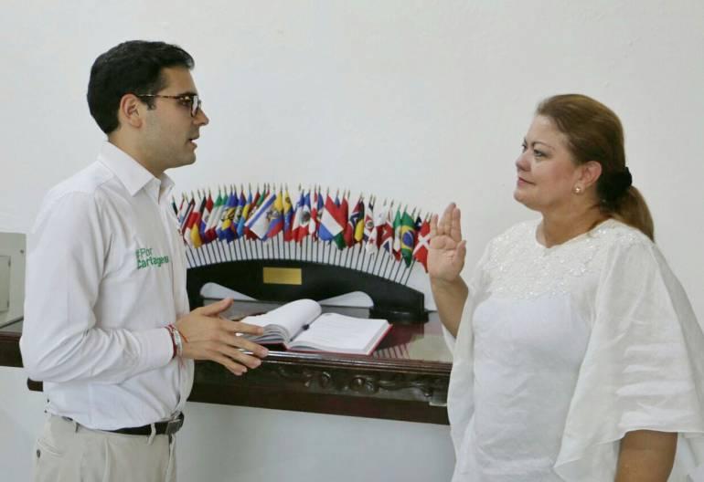Designada nueva secretaria de Infraestructura del Distrito de Cartagena