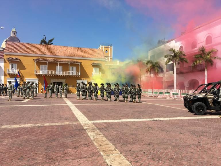 Listo el dispositivo de seguridad para la visita del Papa en Cartagena