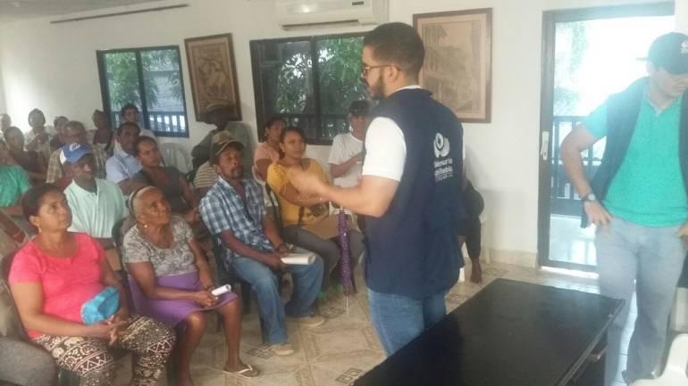 Defensoría adelantó jornada descentralizada de atención en Bolívar