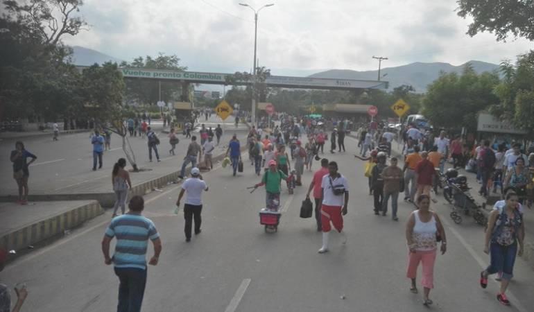 Gobierno monitorea crisis fronteriza por presencia de venezolanos