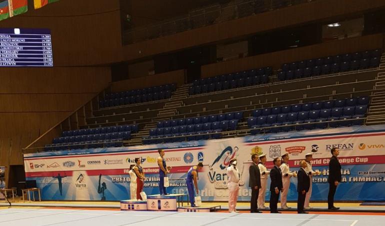 Tomás González ganó medalla de oro en World Series de Varna