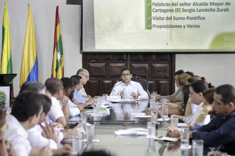 En marcha planes operativos para recibimiento del papa Francisco en Cartagena: En marcha planes operativos para recibimiento del papa Francisco en Cartagena