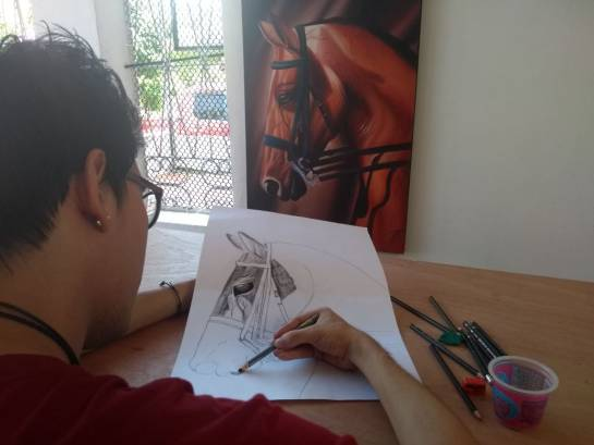 Jaime Alba Superarte Ayuda Discapacitados: Jaime Alba Sepúlveda, el maestro que ayuda a discapacitados a pintar