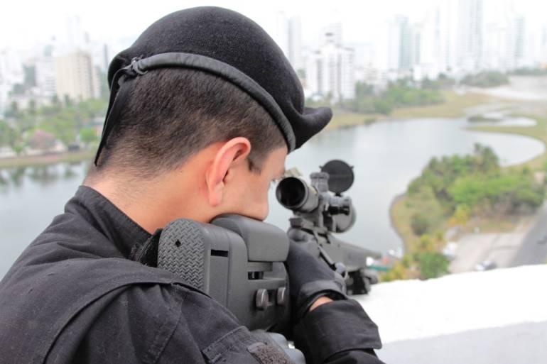 Listo el dispositivo de seguridad para recibir la visita papal a Cartagena: Listo el dispositivo de seguridad para recibir la visita papal a Cartagena