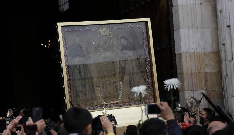 Virgen de Chiquinquirá: Virgen de Chiquinquirá le madrugará a su regreso a casa