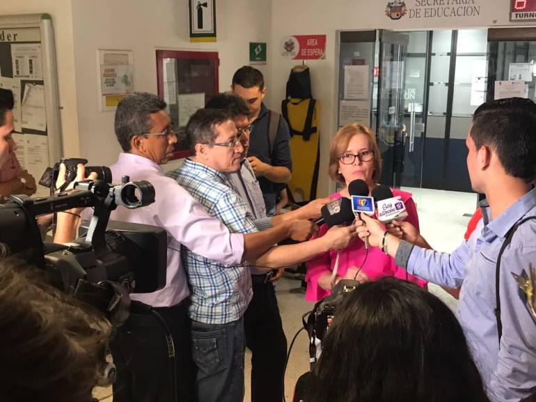 NO TIENE MARCHA ATRÁS EL TRASLADO DSE RECTORES DE COLEGIOS DE BUCARAMANGA: Alcaldía notifica que no hay marcha atrás en traslado de rectores