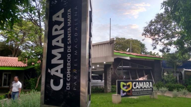 Cámara de Comercio de Santa Marta. /FOTO CARACOL RADIO