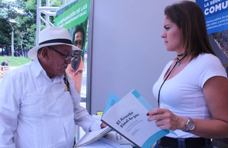 """ACUERDO, FINAL, PAZ, FERIA, DEL , LIBRO, MEDELLIN: """"El Acuerdo Final de Paz"""", uno de los escritos presentes en la Feria del Libro"""