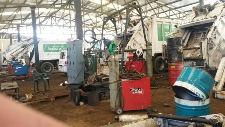 Aguas de Bogotá, camiones, basurero Doña Juana: En 2 años se invirtieron $24.0000 millones en reparar camiones de Aguas de Bogotá