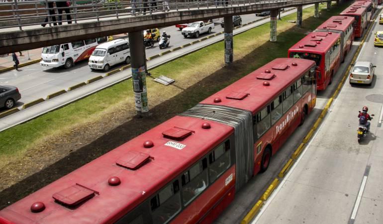 Transmilenio, Bogotá, Juan Carlos Flórez, costos, alcaldías Petro y Peñalosa: Al día se varan 33 buses de Transmilenio en Bogotá