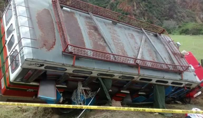 Accidente Suárez cauca muertos y heridos: Tres muertos y 16 heridos dejan, accidente en Suárez Cauca