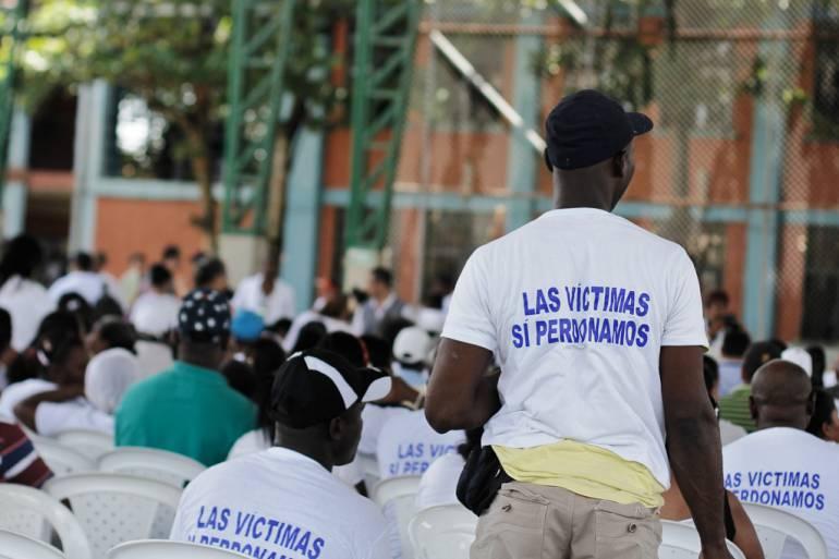 Víctimas de paramilitares en Bolívar destacaron condena contra exjefes de las AUC: Víctimas de paramilitares en Bolívar destacaron condena contra exjefes de las AUC