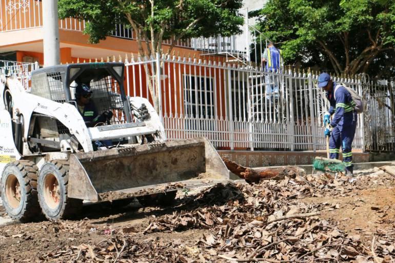 Fueron recogidas 50 toneladas de residuos mixtos en labores de limpieza y aseo en Cartagena: Fueron recogidas 50 toneladas de residuos mixtos en labores de limpieza y aseo en Cartagena