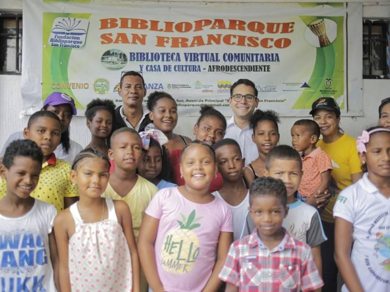 Biblioparque de San Francisco en Cartagena será intervenido este año