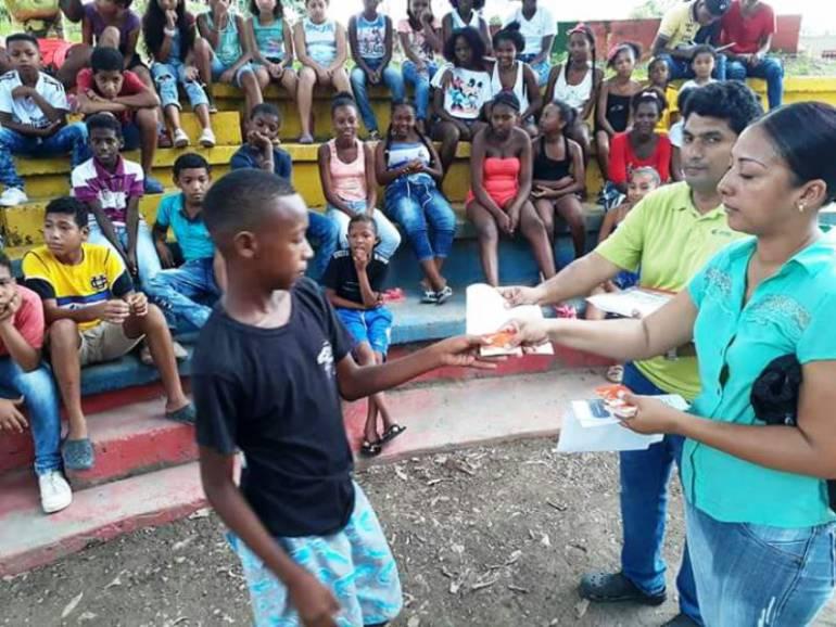 Avanzan actividades de pedagogía sobre el buen uso de Transcaribe en Cartagena: Avanzan actividades de pedagogía sobre el buen uso de Transcaribe en Cartagena