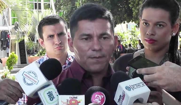 Alcalde de El Tarra, José de Dios Toro