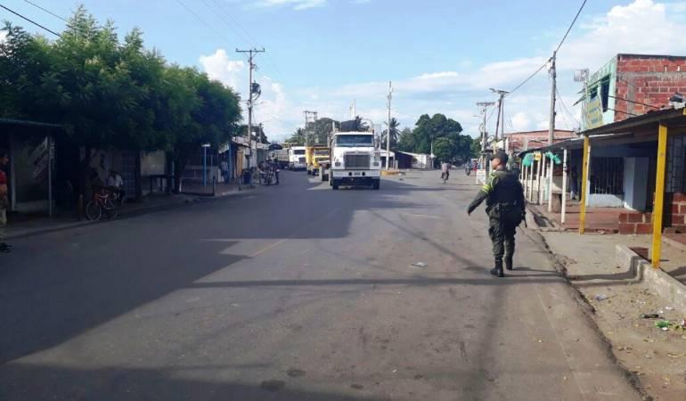 Vía Cúcuta- Ocaña