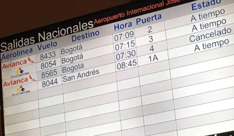 Avianca cancela vuelos a Valledupar