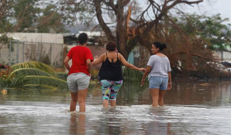 Comenzó el proceso de repatriación de connacionales afectados por el huracán María