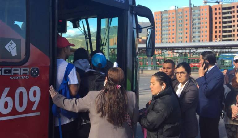 Tenga en cuenta los cierres que tendrá Bogotá — Paro del sur