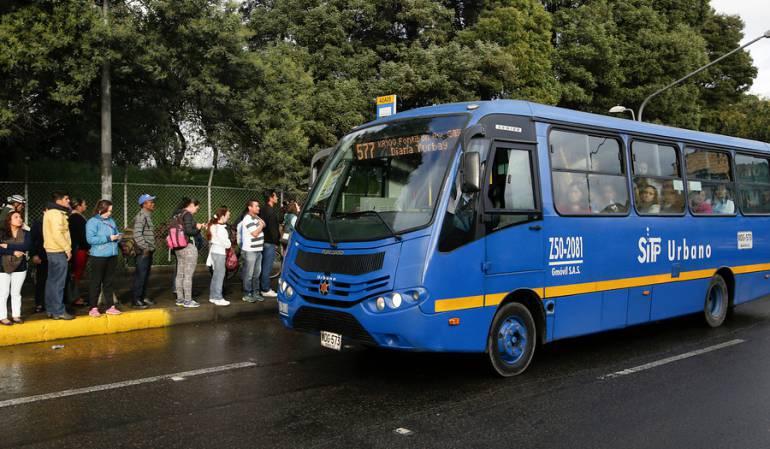 Alertan que Bogotá podría quedarse sin el servicio del Sitp