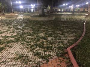 GRANIZADA EN MOGOTES SANTANDER LLUVIAS: Cayó granizo al por mayor en Mogotes