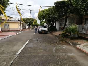 AFECTACIONES EN CINCO SECTORES DE BARRANCABERMEJA POR LLUVIAS: Lluvias tumbaron árboles en Barrancabermeja