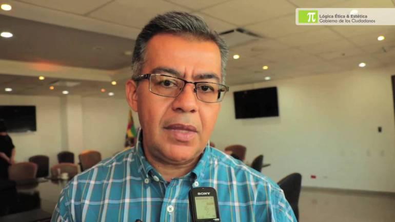 RENUNCIO EL DIRECTOR DE TRÁNSITO DE BUCARAMANGA MILLER SALAS RONDON: Renunció el director de Tránsito de Bucaramanga, Miller Salas