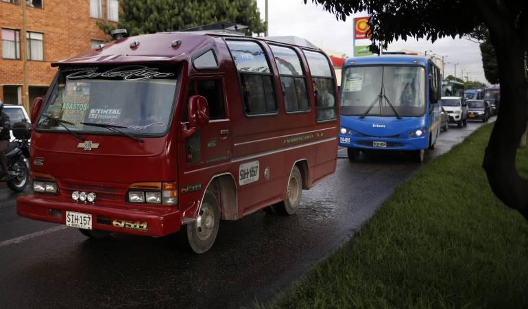 Bogotá se quedaría sin servicio de Sitp por crisis en el sistema