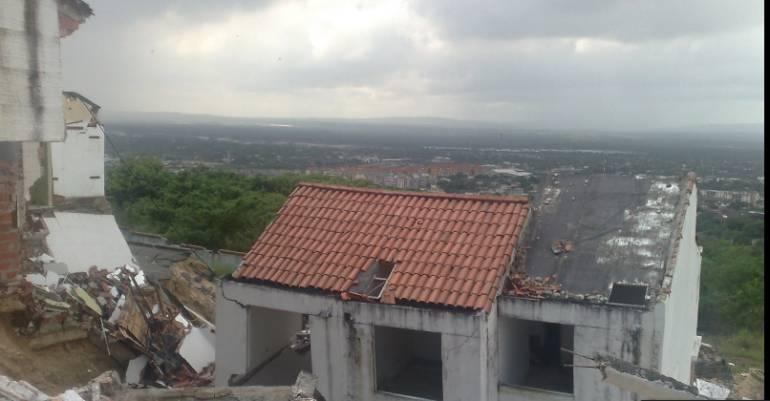 Familias en Campo Alegre ya han sido reubicadas