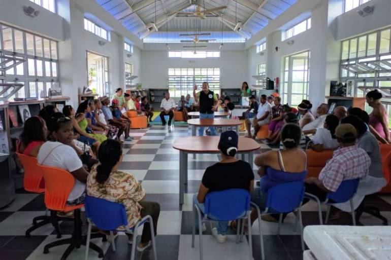 """""""Tenemos una consolidada red distrital de bibliotecas en Cartagena"""": IPCC: """"Tenemos una consolidada red distrital de bibliotecas en Cartagena"""": IPCC"""