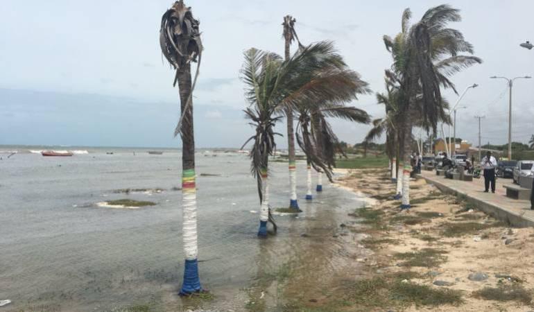 Alerta en La Guajira por posible formación de vendavales