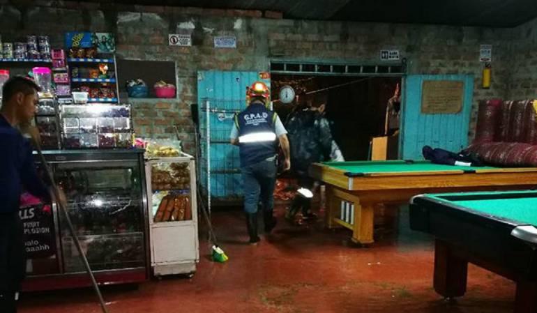 Tolima lluvias: Emergencia en Tolima por fuertes lluvias
