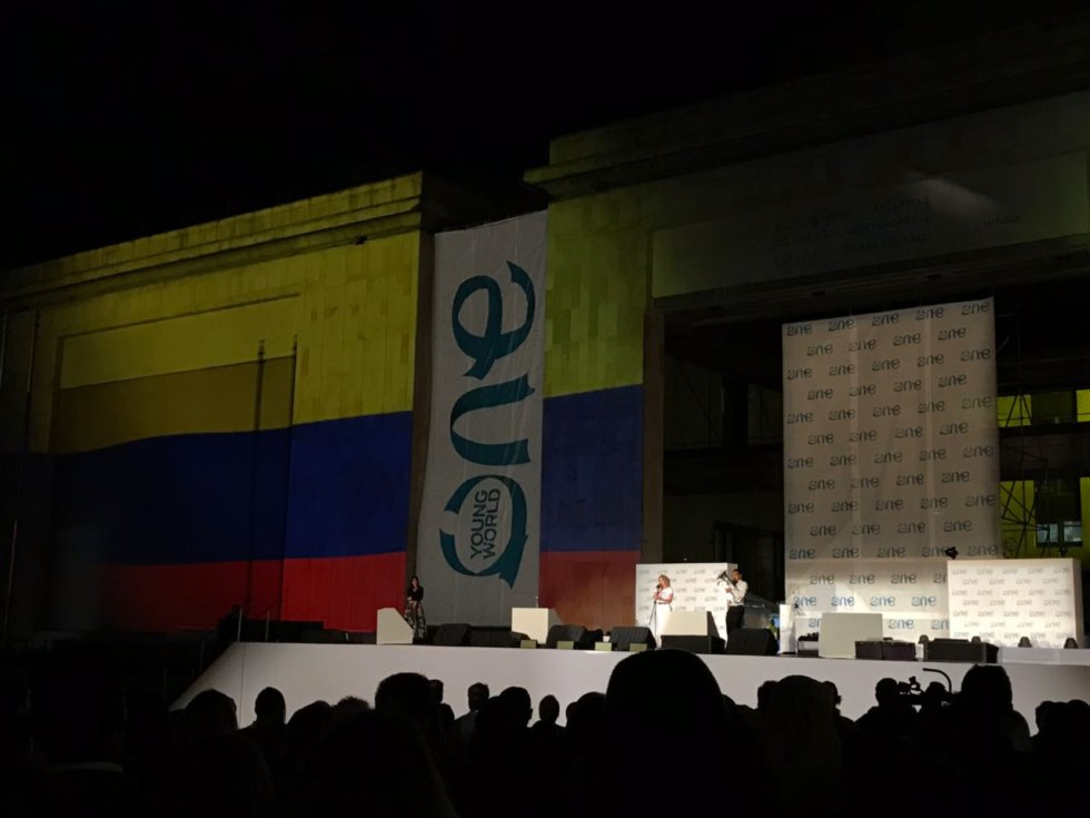 One Young World: [En fotos] Arrancó en Bogotá el One Young World