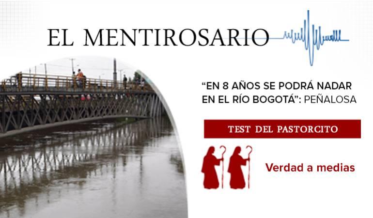 El mentirosario, se podrá volver a nadar en el río Bogotá: ¿Se podrá volver a nadar en el río Bogotá?