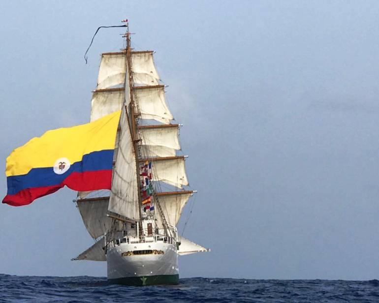 """El buque escuela ARC """"Gloria"""" arriba a Cartagena tras llevar lo mejor de Colombia al mundo: El buque escuela ARC """"Gloria"""" arriba a Cartagena tras llevar lo mejor de Colombia al mundo"""