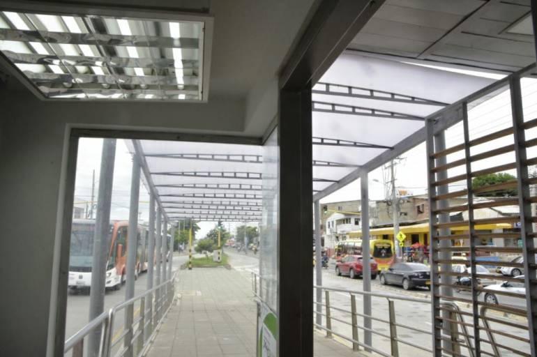 Estación España de Transcaribe ya cuenta con servicio de energía y pronto será habilitada: Estación España de Transcaribe ya cuenta con servicio de energía y pronto será habilitada