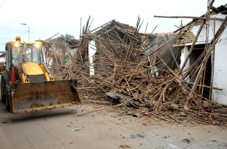 Demolición de viviendas en Palmira: En Palmira 20 viviendas serían demolidas por ser guaridas de delincuentes