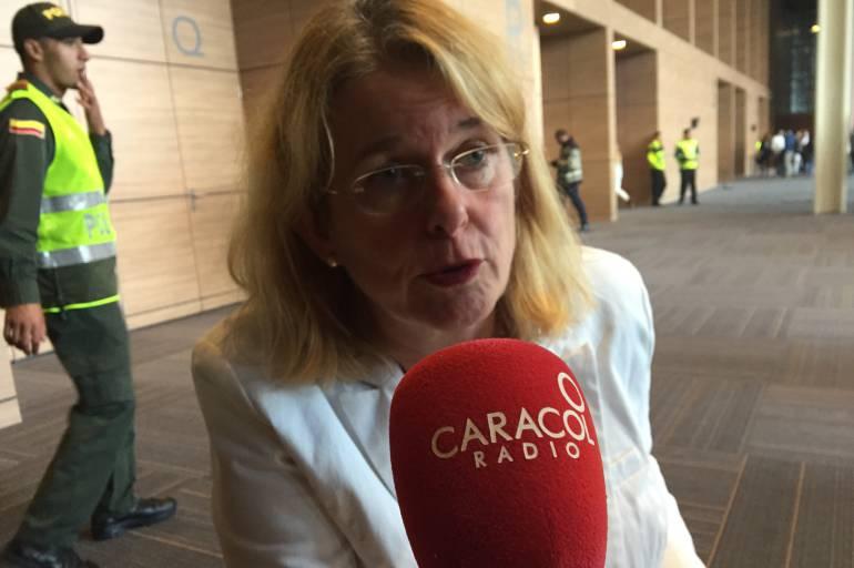 One Young World en Bogotá: Me llegan al corazón los jóvenes víctimas del conflicto: alcaldesa de La Haya