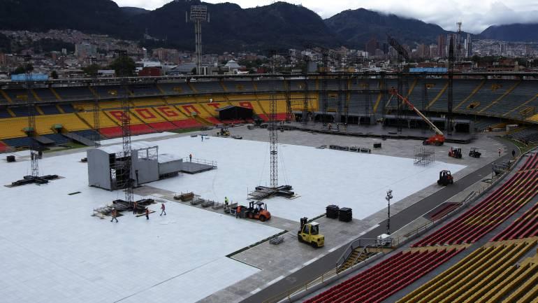 Por mantenimiento en El Campín se aplazarán partidos de fútbol