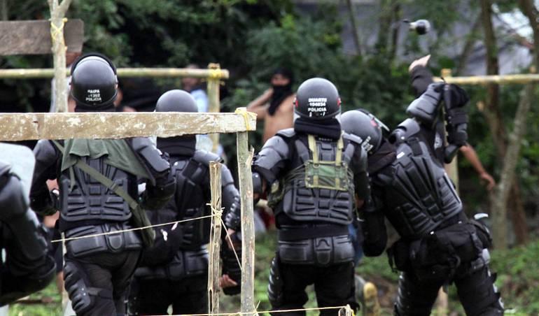 Policía a indemnizar a ciudadano agredido en el Paro Agrario en Boyacá: Policía a indemnizar a ciudadano agredido en el Paro Agrario en Boyacá