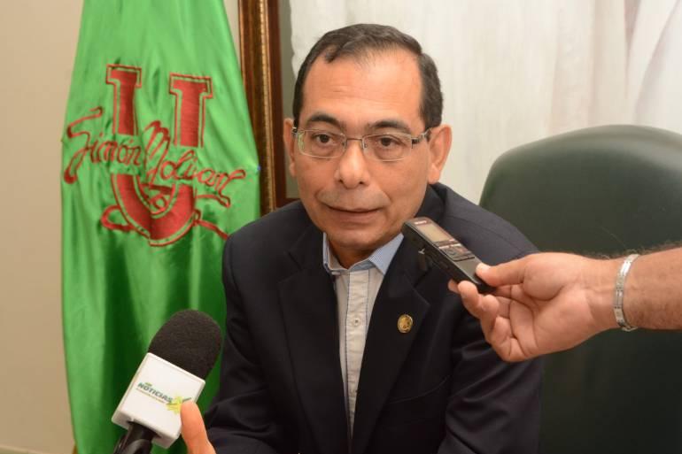 José Consuegra Bolívar, rector de la Universidad Simón Bolívar. / Cortesía Unisimón