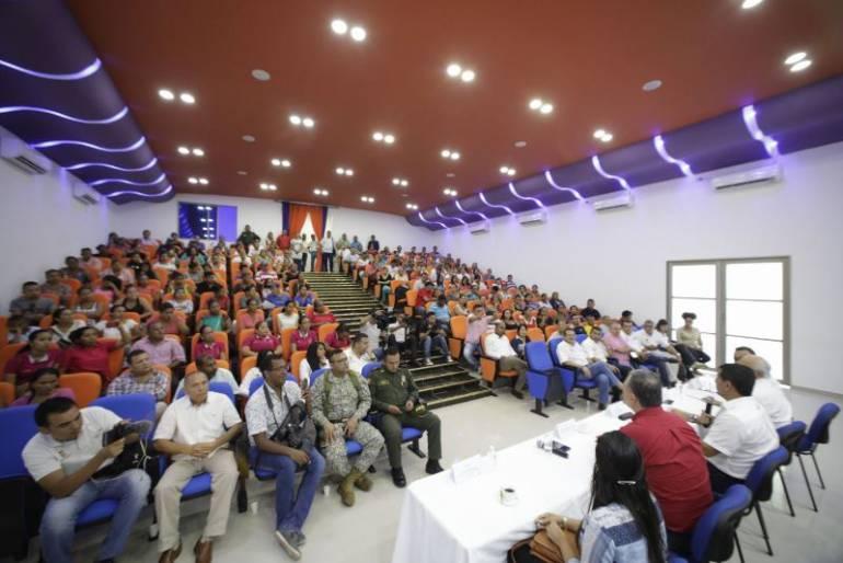 Autoridades visitaron a niñas afectadas con vacuna del papiloma en Bolívar